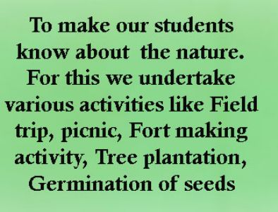 Environment Education to Students