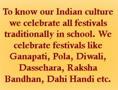 celebrating cultural events